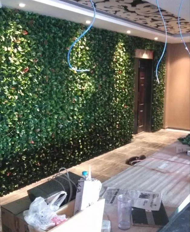 仿真植物墙制作