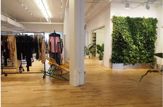 商业空间植物墙