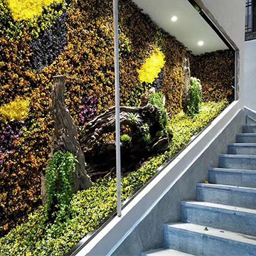 商店仿真植物墙