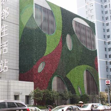 酒店外墙垂直绿化