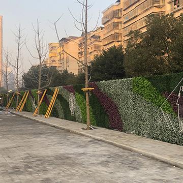 温州大悦里商场植物墙案例