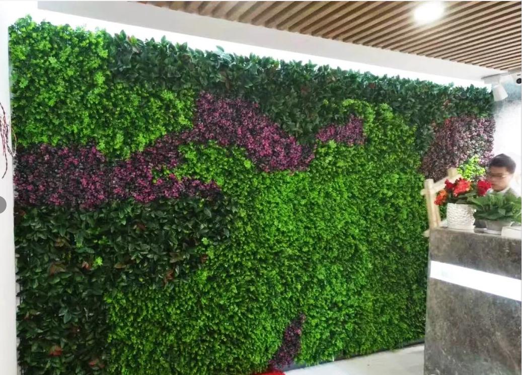 怎么挑选仿真植物墙