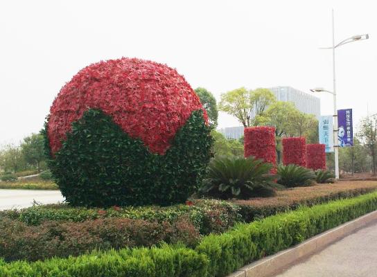 市政仿真植物墙