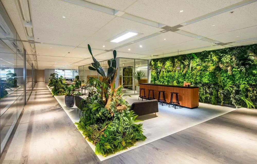 仿真植物墙设计要点