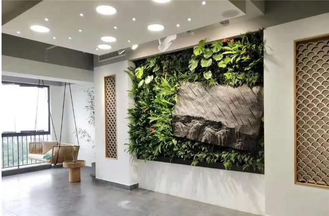 室内仿真植物案例