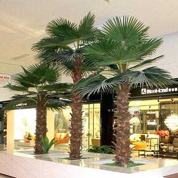 室内仿真棕榈树