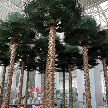 机场仿真椰子树