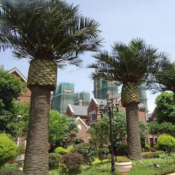 小区仿真棕榈树