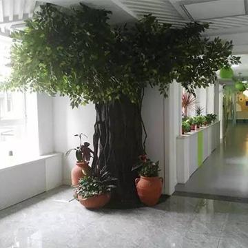 仿真榕树造型