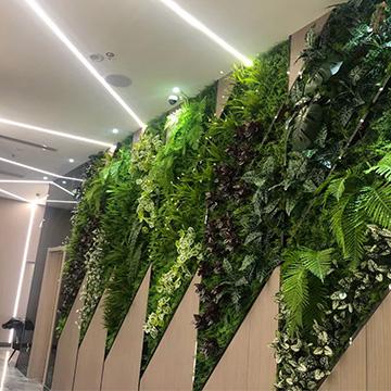 商场室内仿真植物墙