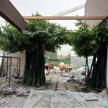 室外仿真榕树