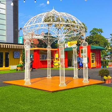 商场室外人造草坪