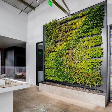 售楼处仿真植物墙