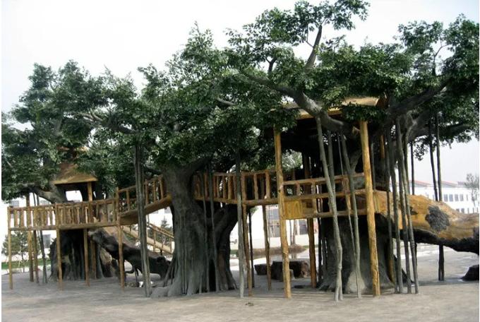自己制作仿真树