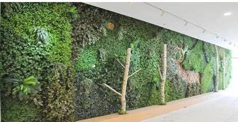 仿真植物墙与仿真树案例