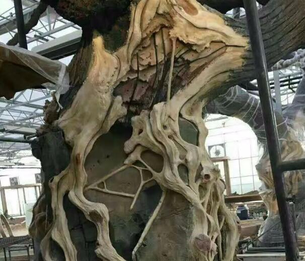 仿真假树的制作流程