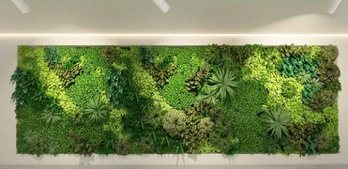 仿真植物墙施工设计要求