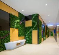 仿真植物墙空间利用
