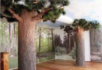 仿真包柱树
