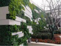 大型室外仿真植物墙