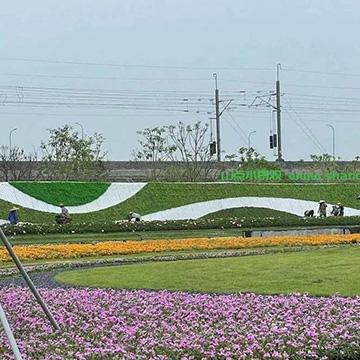 公园仿真绿植围挡