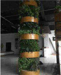 仿真绿植柱子