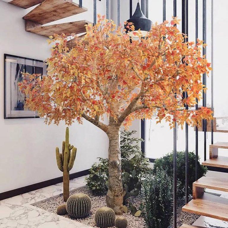 室内造景选仿真植物有哪些好处